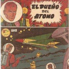 Tebeos y Cómics Extras: EL DUEÑO DEL ÁTOMO AÑO 1.956. Nº 31. FOTOCOPIADO DEL ORIGINAL ES MUY DIFICIL.. Lote 75623543