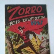 Tebeos y Cómics Extras: EL ZORRO EXTRAORDINARIO 1957, FERMA ORIGINAL ,TA. Lote 75678147