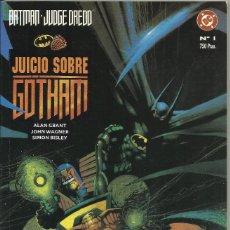 Tebeos y Cómics Extras: BATMAN / JUDGE DREDD: JUICIO SOBRE GOTHAM (ZINCO). Lote 104109298