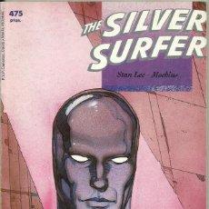 Tebeos y Cómics Extras: THE SILVER SURFER - STAN LEE Y MOEBIUS - TOMO - FORUM. Lote 98244287