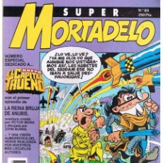 Tebeos y Cómics Extras: SUPER MORTADELO, ESPECIAL DEDICADO AL NUEVO CAPITÁN TRUENO, 52. PÁGINAS.. Lote 82292284