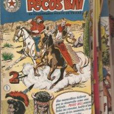 Tebeos y Cómics Extras: PECOS BILL, ALBUM DE ORO, AÑO 1.951. LOTE DEL Nº 1 AL Nº 16. ORIGINALES. EDITORIAL HISPANO AMERICANA. Lote 88763136