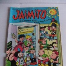 Tebeos y Cómics Extras: JAIMITO ALBUM DE VACACIONES 1967 EDITORIAL VALENCIANA. Lote 88948824