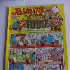 Tebeos y Cómics Extras: JAIMITO NUMERO EXTRAORDINARIO CON MOTIVO DEL NUMERO 1000 EDITORIAL VALENCIANA. Lote 88949332