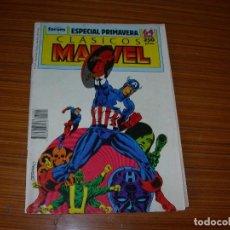 Tebeos y Cómics Extras: CLASICOS MARVEL ESPECIAL PRIMAVERA PARA 1989 EDITA FORUM. Lote 98429335