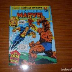 Tebeos y Cómics Extras: CLASICOS MARVEL ESPECIAL INVIERNO PARA 1989 EDITA FORUM. Lote 98429443