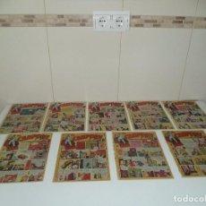 Tebeos y Cómics Extras: EL CAMPEÓN, AÑO 1.948. Nº 1 - 2 - 3 - 4 - 5 - 6 - 7 - 8 - 9. ORIGINALES 25 X 18. EDITORIAL BRUGUERA.. Lote 101215763