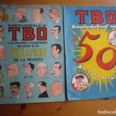 Tebeos y Cómics Extras: 2 COMIC TBO HOMENAJE Y ANIVERSARIO. Lote 102776859