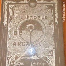Tebeos y Cómics Extras: EL INDALO DE ARGAR- CALA PRINCIPE/ MANZANAL- 1985 TAPA DURA - FIRMADO. Lote 103944691