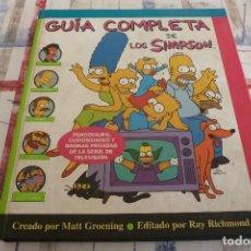 Tebeos y Cómics Extras: (XM)GUÍA COMPLETA DE LOS SIMPSON . MATT GROENING . EDICIONES B PRIMERA EDICIÓN-1. Lote 104027407