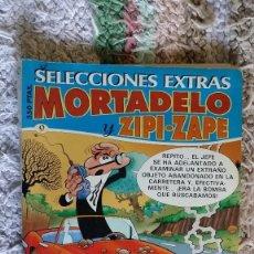 Tebeos y Cómics Extras: MORTADELO Y ZIPI -ZAPE, SELECCIONES EXTRAS. Lote 104315155