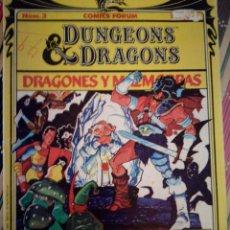 Tebeos y Cómics Extras: DRAGONES Y MAZMORRAS NÚM 3 AÑO 1985. Lote 109241926