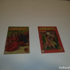 Tebeos y Cómics Extras: JABATO, AÑO 1.951. Nº 10 Y 12. ÚLTIMO DE LA COLECCIÓN LOS 2 TEBEOS ESTAN SIN ABRIR SON ORIGINALES.. Lote 110323539