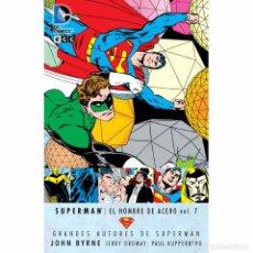 Tebeos y Cómics Extras: SUPERMAN EL HOMBRE DE ACERO VOL.7 GRANDES AUTORES DE SUPERMAN. Lote 115076766