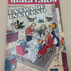 Tebeos y Cómics Extras: MATA RATOS EXTRA DE INVIERNO 1966 -IBERO MUNDIAL, 22 DE NOVIEMBRE DE 1966-. Lote 121171999