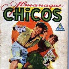 Tebeos: ALMANAQUE CHICOS 1945. Lote 4147669