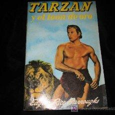 Tebeos: TARZAN Y EL LEON DE ORO GUSTAVO GIL 1956. Lote 8193333