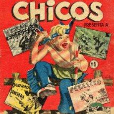 Tebeos: CHICOS Nº 5 (EDITORIAL CID). Lote 8244659