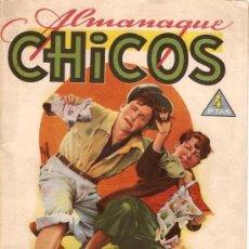 Tebeos: COMIC ALMANAQUE CHICOS 1945. Lote 8745507