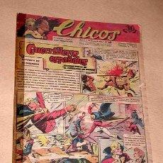 Livros de Banda Desenhada: CHICOS Nº 236. ENERO 1943. GUERRILLEROS ESPAÑOLES EMILIO FREIXAS. EL MUNDO PERDIDO JESÚS BLASCO. +++. Lote 26449443