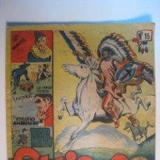 Tebeos: REVISTA JUVENIL CHICOS Nº 15 - EDICOLOR (ORIGINAL). Lote 10689340