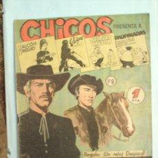 Livros de Banda Desenhada: CHICOS -N.9-EDICIONES CID-1954-COMO NUEVO. Lote 25148627