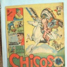 Tebeos: CHICOS-N.15-EDICIONES CID 1954-. Lote 26132952