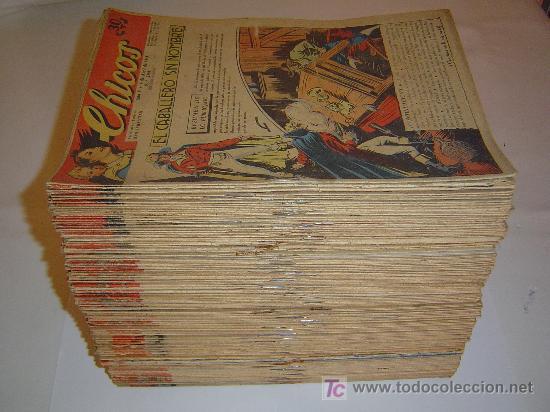 CHICOS 1ª SERIE LOTE DE 63 NUMEROS (Tebeos y Comics - Consuelo Gil)