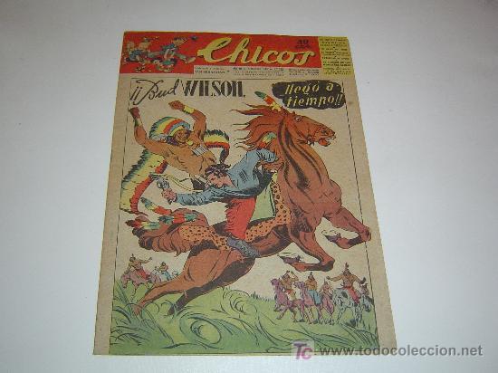 Tebeos: CHICOS 1ª SERIE LOTE DE 63 NUMEROS - Foto 3 - 14126968