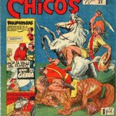 Tebeos: CHICOS Nº27 (EDICIONES CID, 1954). Lote 15127092