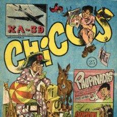 Tebeos: CHICOS Nº25 (EDICIONES CID, 1954). Lote 15127242