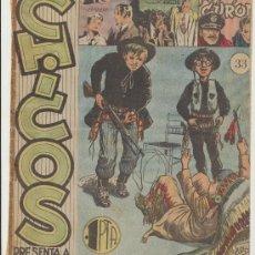 Tebeos: CHICOS Nº 33. CID 1954.. Lote 15545410