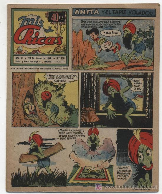 MIS CHICAS. C. GIL 1941. Nº 230. (Tebeos y Comics - Consuelo Gil)