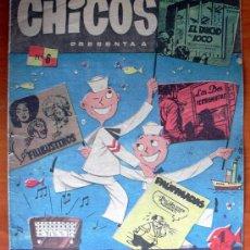 Tebeos: CHICOS Nº 6 - EDITORIAL CID 1954. Lote 18294227