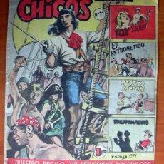 Tebeos: CHICOS Nº 11 - EDITORIAL CID 1954. Lote 18294429