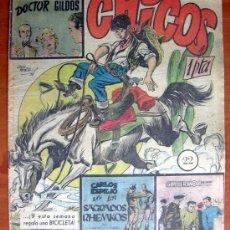 Tebeos: CHICOS Nº 22 - EDITORIAL CID 1954. Lote 18314450