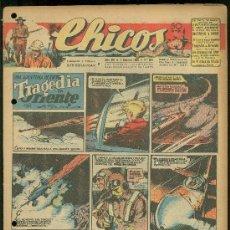 Livros de Banda Desenhada: CHICOS. AÑO VIII. Nº 363. 1 OCTUBRE DE 1945. TRAGEDIA EN ORIENTE.. Lote 18456211