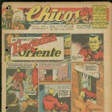 Tebeos: CHICOS. AÑO VIII. Nº 358. 21 JULIO DE 1945. TRAGEDIA EN ORIENTE.. Lote 18456260