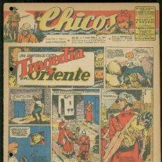 Giornalini: CHICOS. AÑO VIII. Nº 354. 1 JUNIO DE 1945. TRAGEDIA EN ORIENTE.. Lote 18456320