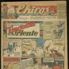 Tebeos: CHICOS. AÑO VIII. Nº 353. 21 MAYO DE 1945. TRAGEDIA EN ORIENTE.. Lote 18456332