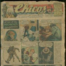 Tebeos: CHICOS. AÑO X. 11 DE ENERO DE 1948. Nº 469.. Lote 18553180