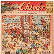 Tebeos: CHICOS AÑO VI. 9 DE FEBRERO DE 1944 Nº 288. Lote 18563287