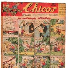 Tebeos: CHICOS AÑO VI. 16 DE FEBRERO DE 1944 Nº 289. Lote 18563298