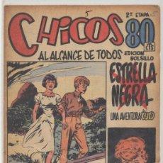 Tebeos: CHICOS 2ª Nº 5. CONSUELO GIL 1950.. Lote 23652460