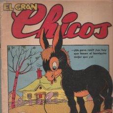 Tebeos: EL GRAN CHICOS Nº 21.. Lote 23804809