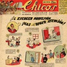 Tebeos: CHICOS Nº430 (CONSUELO GIL). CUTO DE BLASCO, FREIXAS, PUIGMIQUEL, IRANZO, ROCA, WHITE.... Lote 24160254