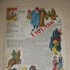 Tebeos: EL GRAN CHICOS - MAYO 1946 - Nº 7 - PORTADA ILUSTRADA POR C. ROCA - CONTIENE LA LAMINA CENTRAL TIPO . Lote 26957373