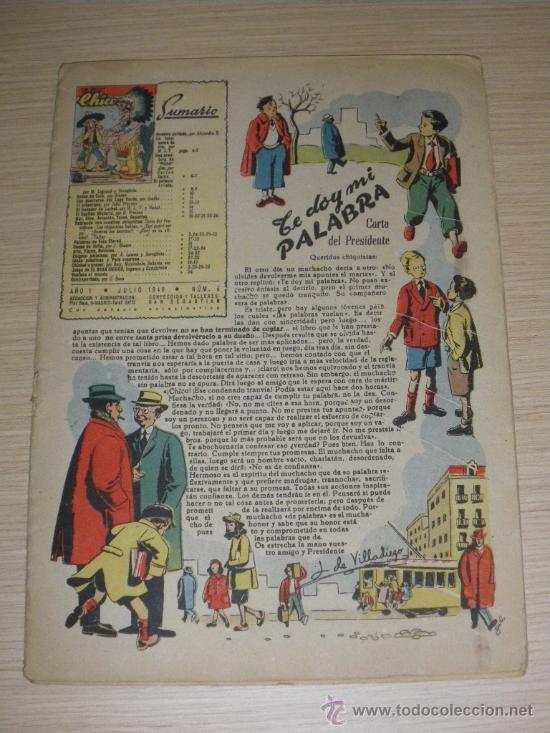 EL GRAN CHICOS - JULIO DE 1946 - Nº 9 - PORTADA ILUSTRADA POR C. ROCA - CONTIENE LA LAMINA CENTRAL T (Tebeos y Comics - Consuelo Gil)