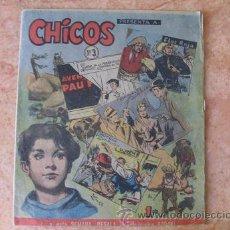 Tebeos: CHICOS,Nº 3,EDICIONES CID,AÑO 1954. Lote 28229637