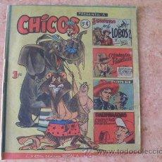 Tebeos: CHICOS,Nº 4,EDICIONES CID,AÑO 1954. Lote 28229732